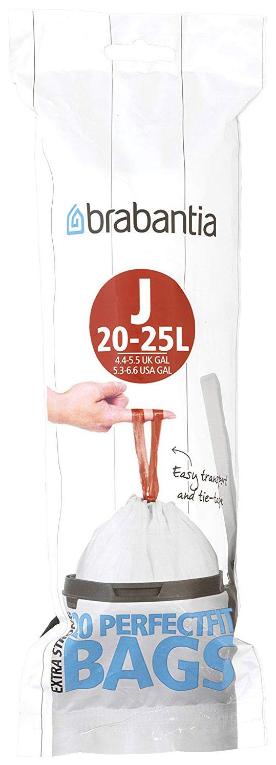 Пакет пластиковый Brabantia 23 л 20 шт