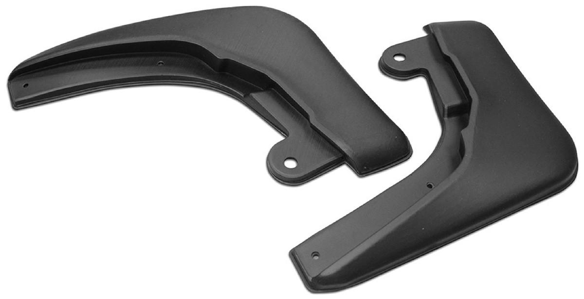 Брызговики задние Rival для Nissan Sentra B17 седан 2014-2017, полиуретан, 2 шт., 24106002