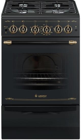 Газовая плита GEFEST ПГ 5100-02 0183 Black