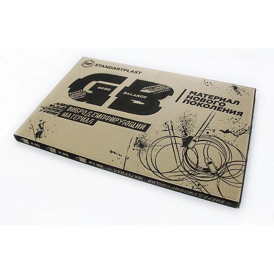 Виброизоляция StP GB 4 лист 0,75х0,47