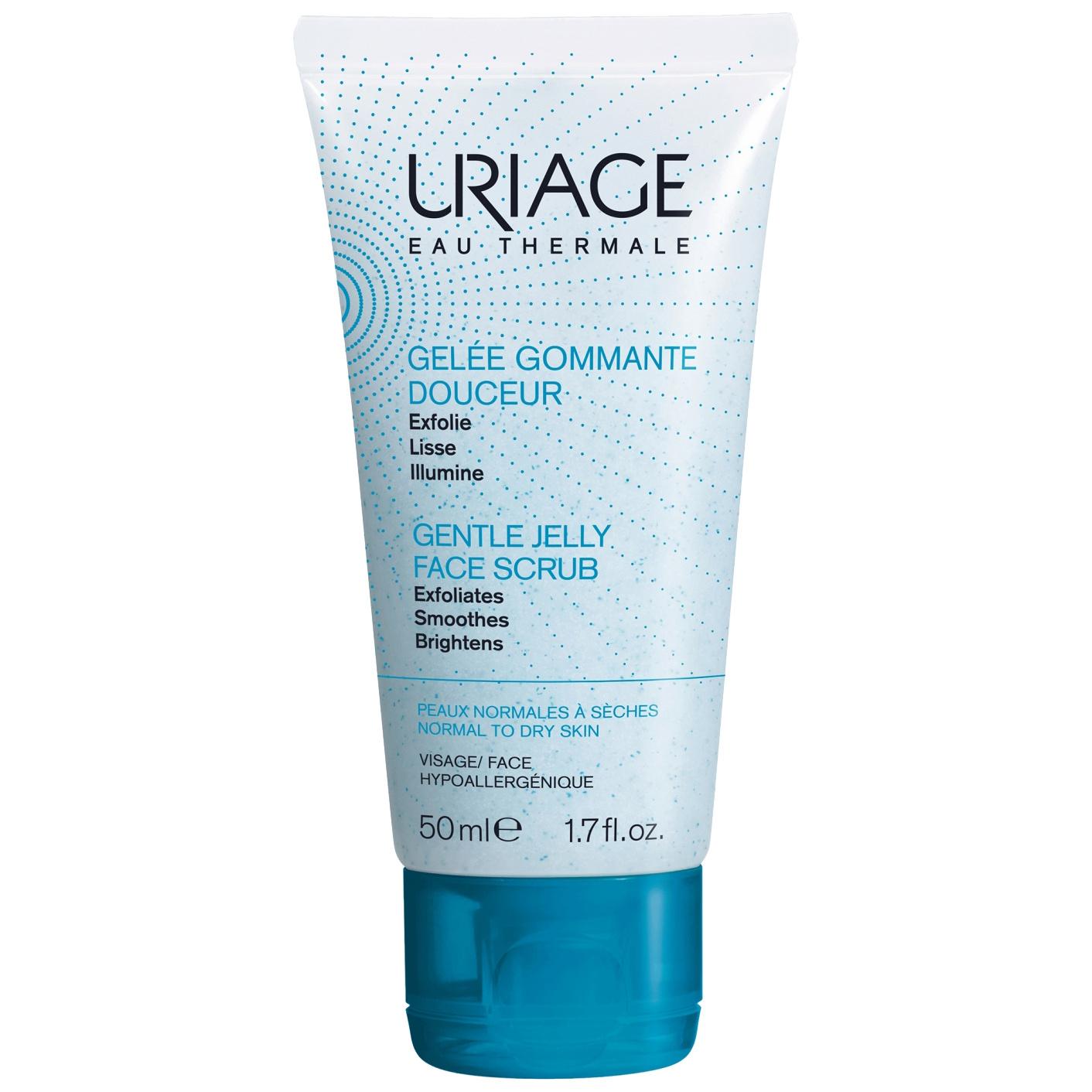 Скраб для лица Uriage Gel gommante douceur
