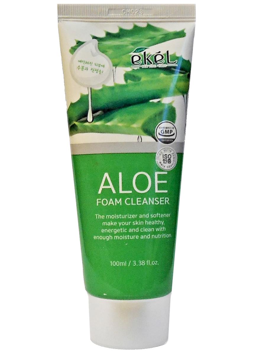 Купить Пенка для умывания с экстрактом алоэ Ekel aloe foam cleanser 100 мл