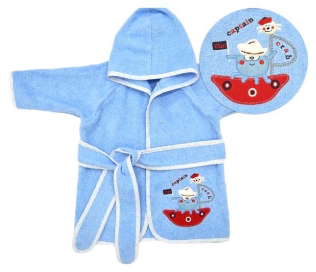 Детский халат Fim Baby А 1000 голубой