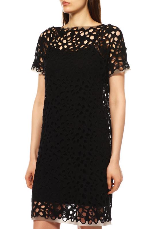 Повседневное платье женское ElieTahari 4222500 черное S
