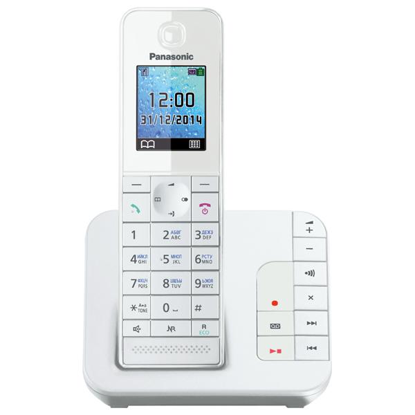 Телефон DECT Panasonic KX TGH220RUW