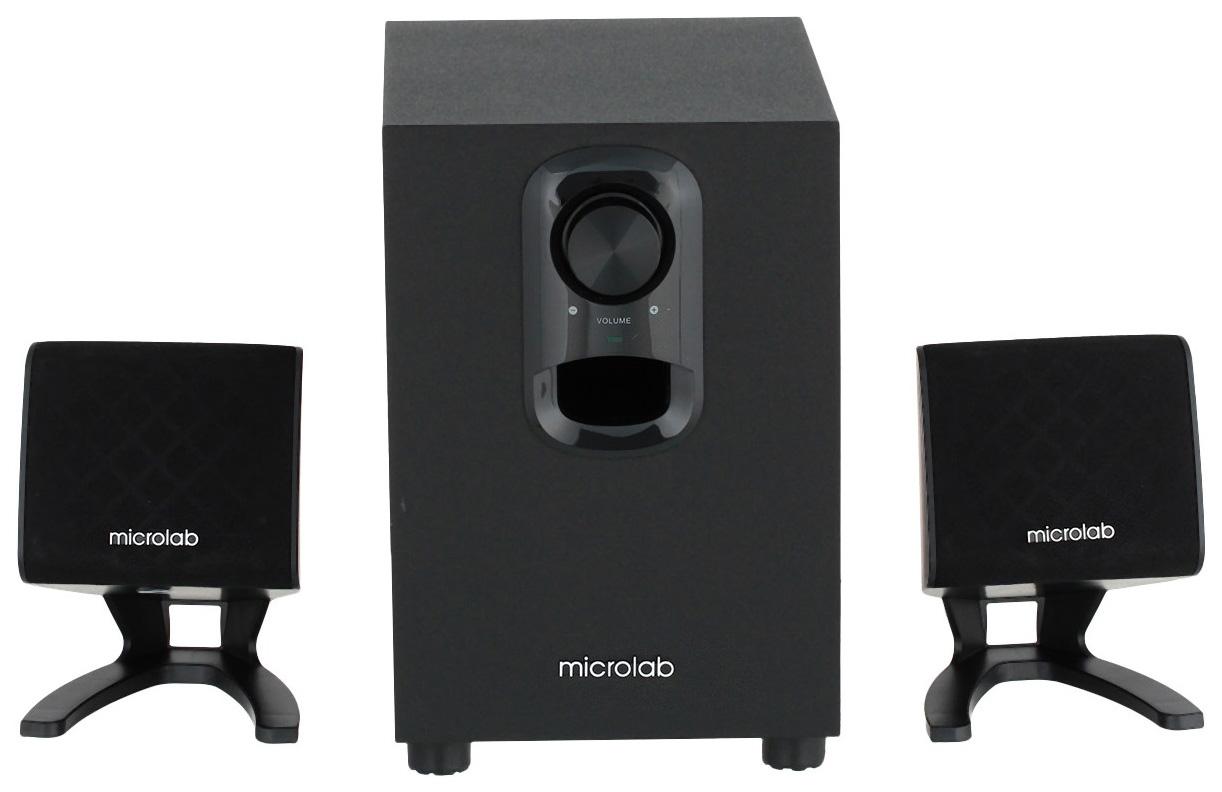 Колонки компьютерные 2.1 Microlab M 108 Черный