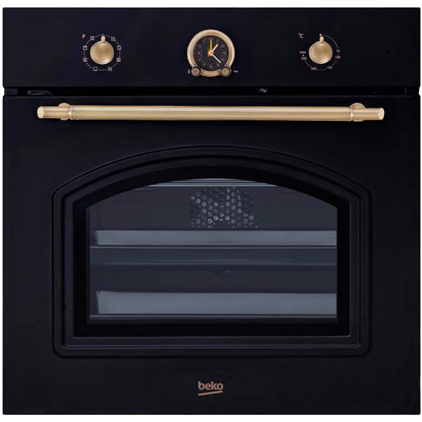 Встраиваемый электрический духовой шкаф Beko OIM27201A Black