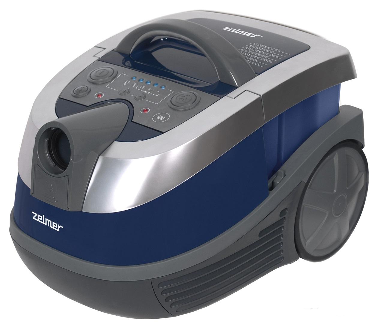 Пылесос Zelmer  ZVC752SPRU Blue/Grey