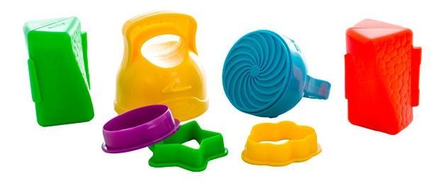 Skwooshi s30008 набор для смешивания цветов - масса для лепки и аксессуары фото