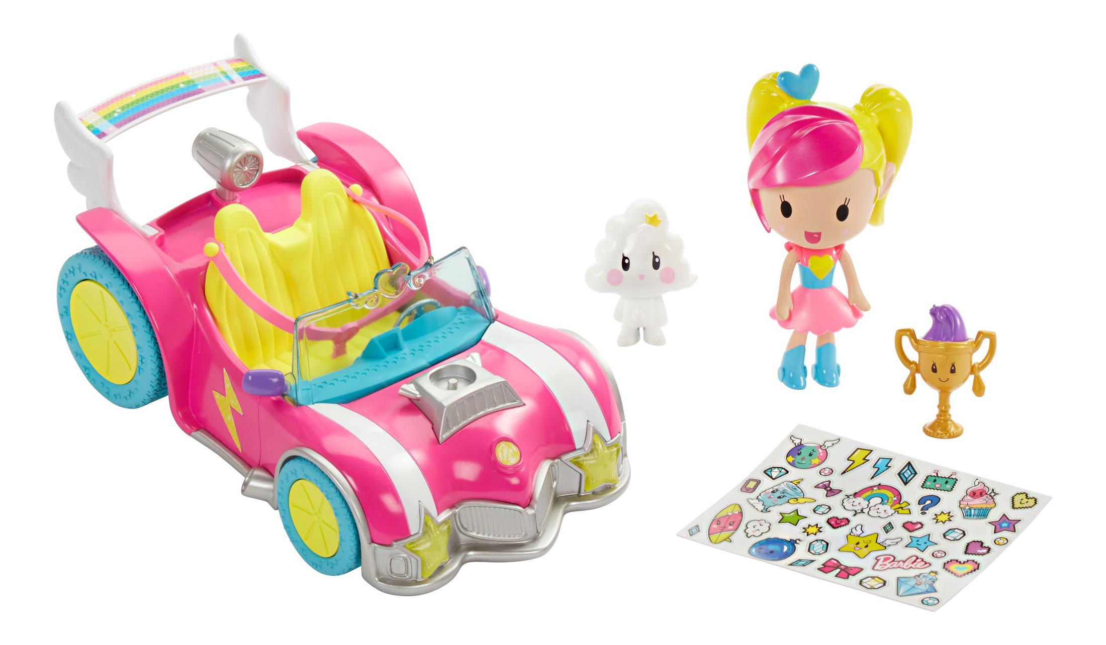 Купить Игровой набор Barbie Автомобиль из серии Barbie и виртуальный мир DTW18, Куклы Barbie