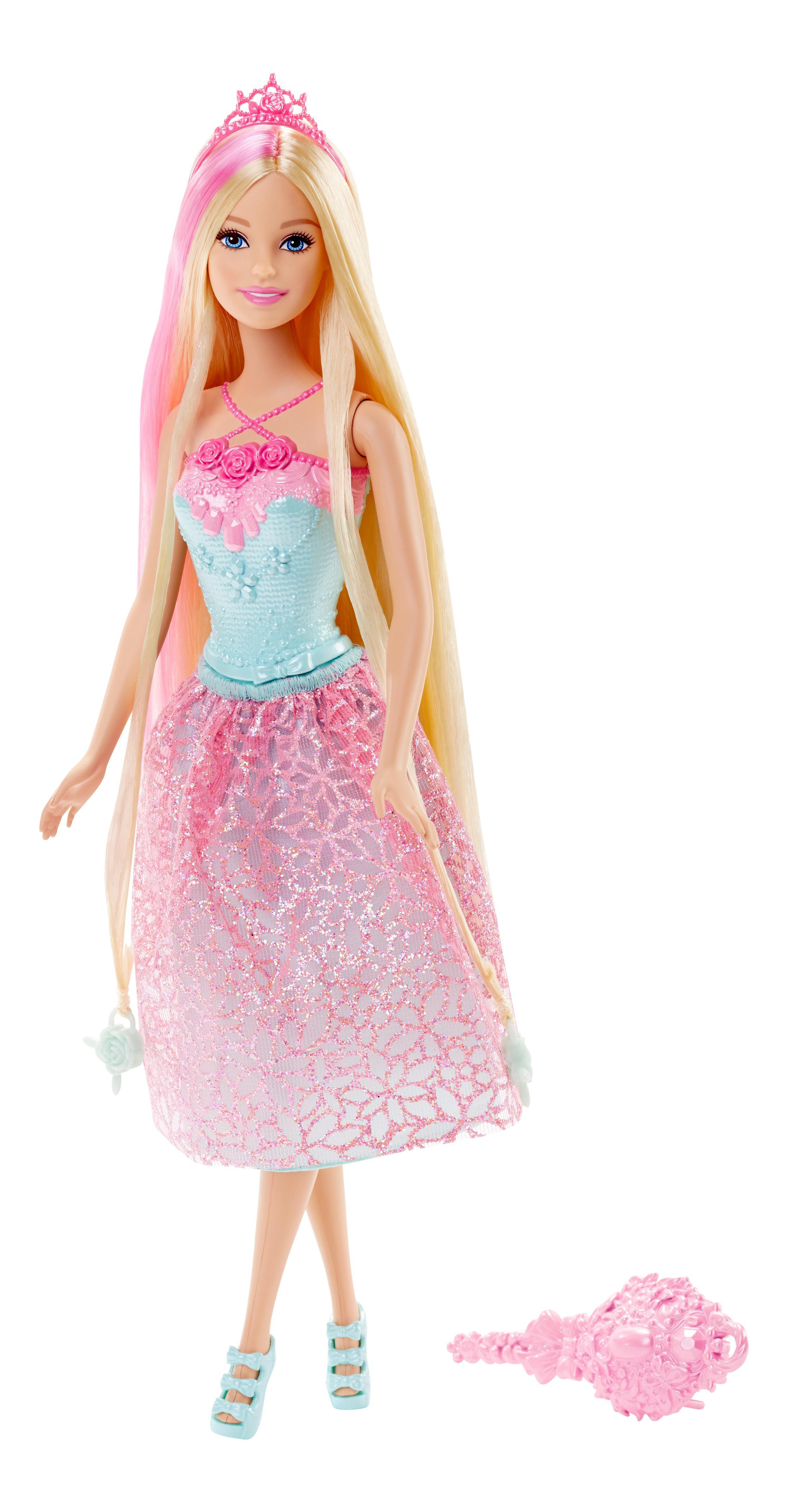 Купить Endless Hair Kingdom Princess Doll - Blonde Hair, Кукла-принцесса Barbie с длинными волосами DKB56 DKB60, Куклы Barbie