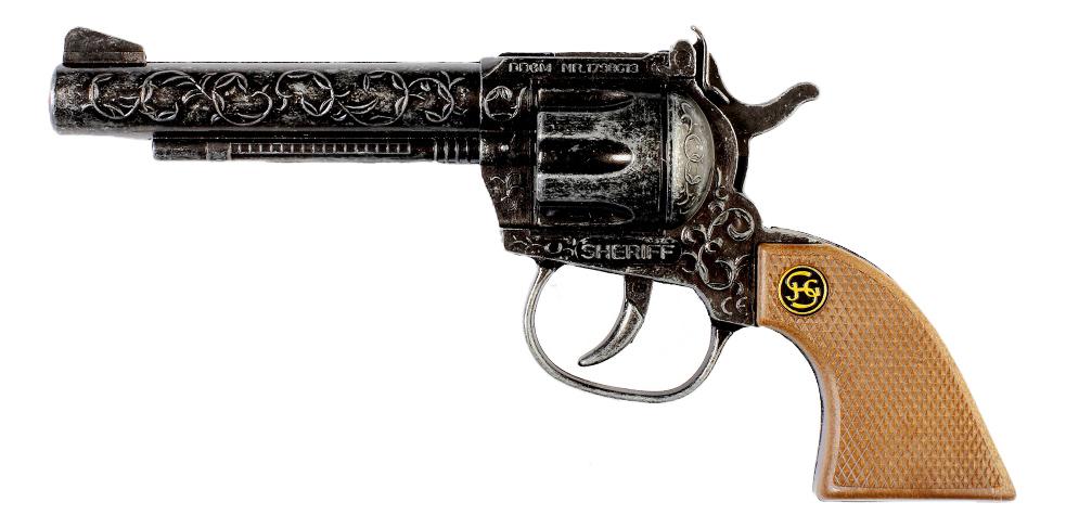 Пистолет игрушечный Schrodel Sheriff antique (4044581F) фото