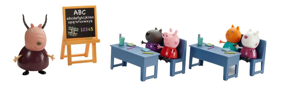 Купить Идем в школу, Игровой набор Свинка Пеппа Идем в школу Peppa Pig, Игровые наборы