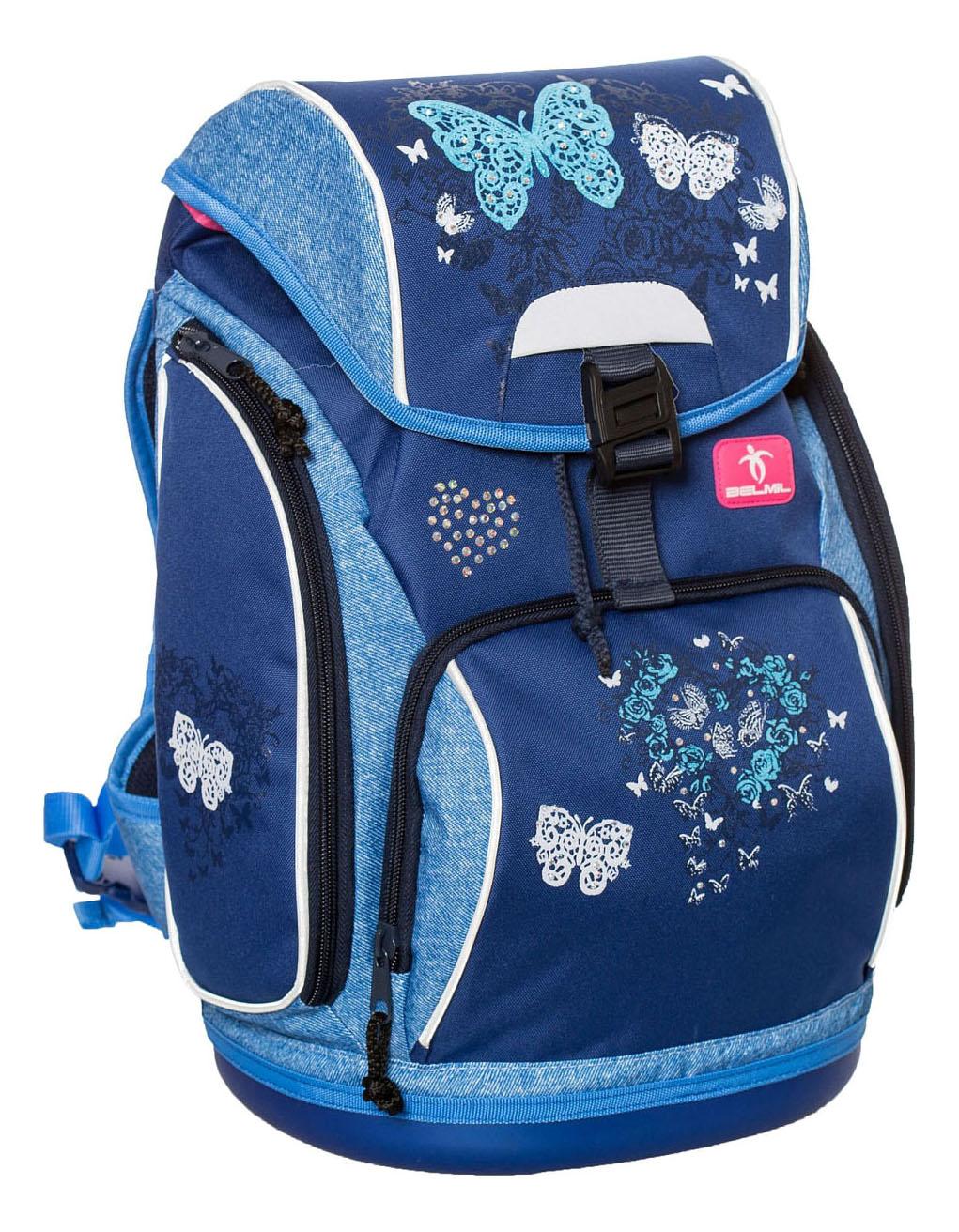 Ранец Belmil Butterfly синий