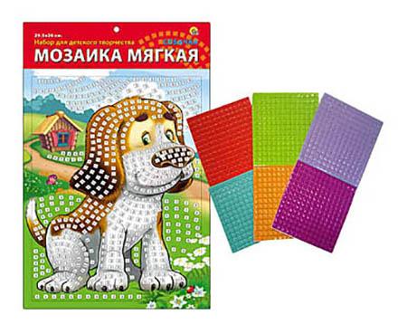 Мозаика Рыжий кот Собачка