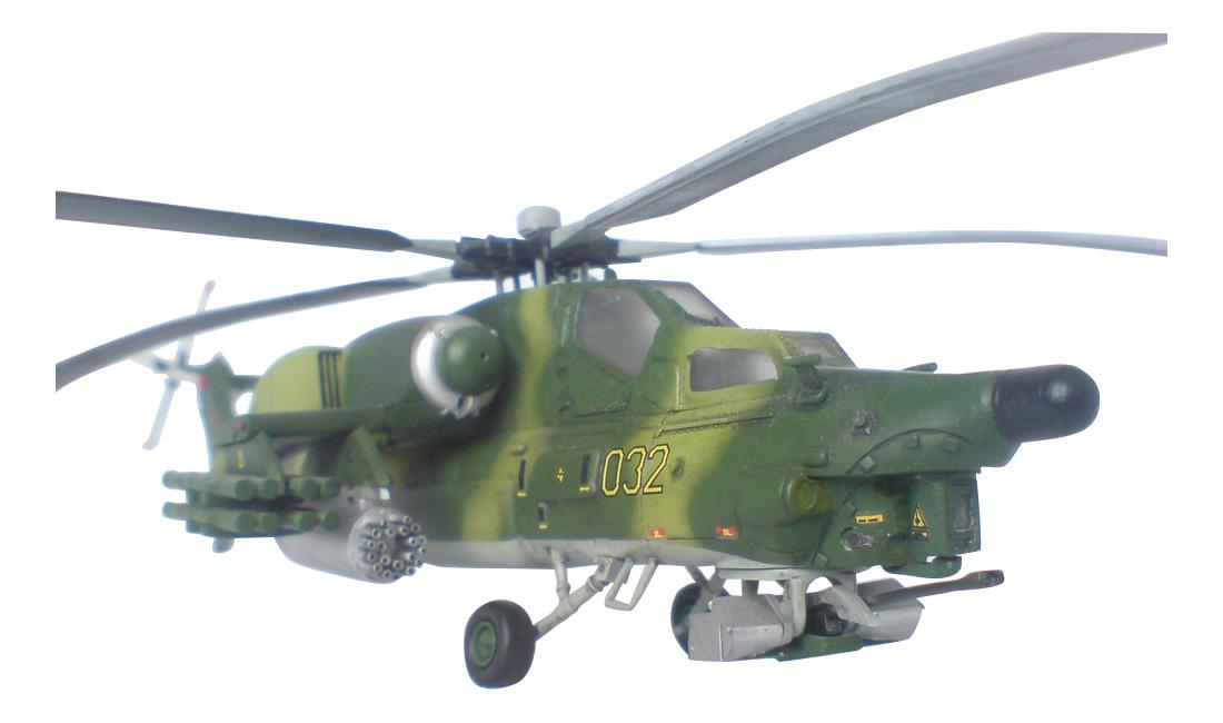 Модели для сборки Zvezda Вертолет Ми 28А