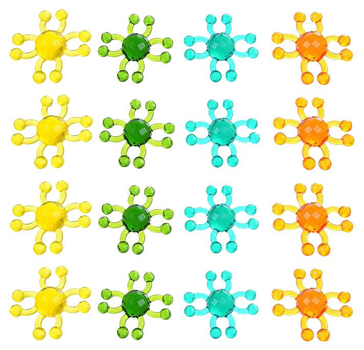 Купить Набор для создания украшений БИПЛАНТ Самоцветики набор №3 11014, Биплант, Рукоделие