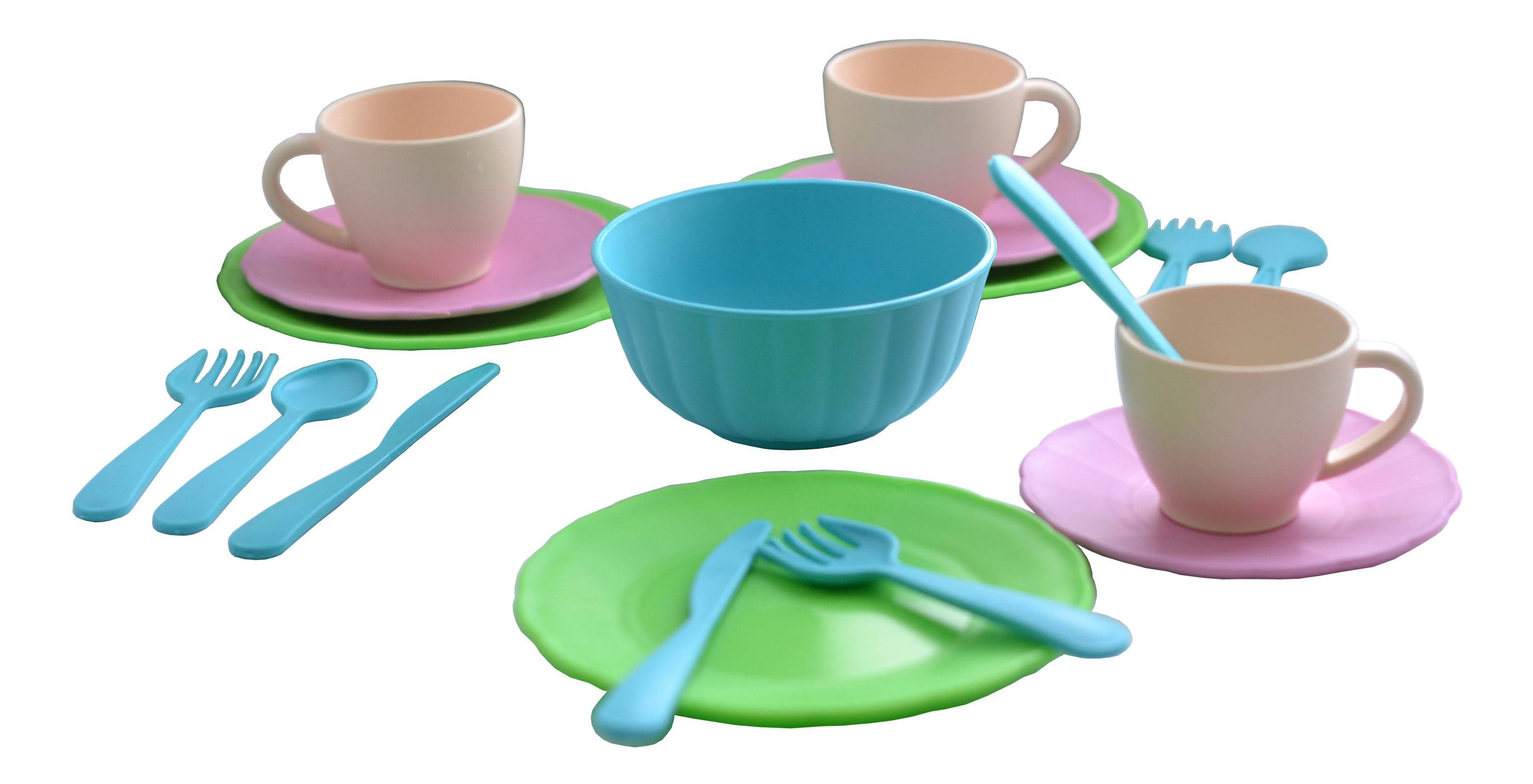 Купить Набор посуды игрушечный Форма Сервиз чайный Подружки, Игрушечная посуда