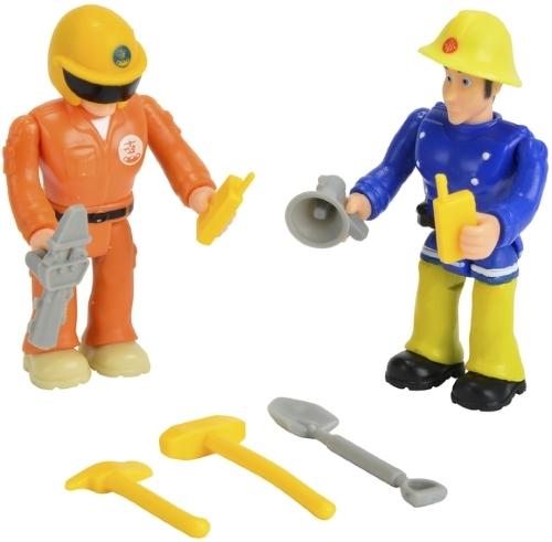 Купить Набор мини-фигурок SIMBA Пожарный Сэм 2 шт, в ассортименте, Игровые наборы