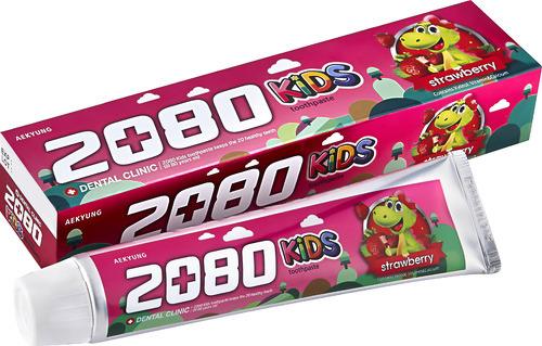 Купить Детская зубная паста DC 2080 Клубника, 80 г, Детские зубные пасты