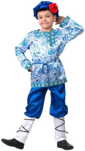 Карнавальный костюм JEANEES Вася Василек, цв. синий