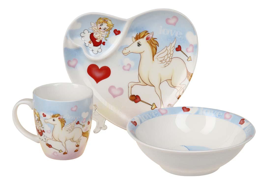 Купить Набор детской посуды 8776, Набор детской посуды, Rosenberg, Наборы детской посуды