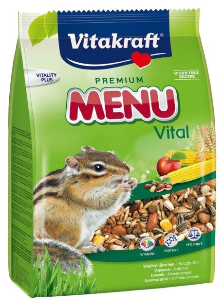 Корм для бурундуков Vitakraft Menu Vital 0.6 кг 1 шт