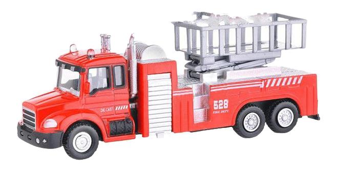 Купить Коллекционная модель Autotime Lift Fire Truck Пожарная с подъемником 1:48,