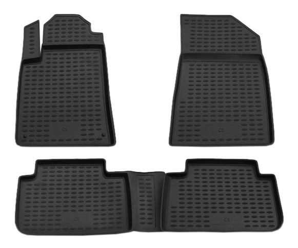 Комплект ковриков в салон автомобиля Autofamily для Citroen (NLC.10.08.210)