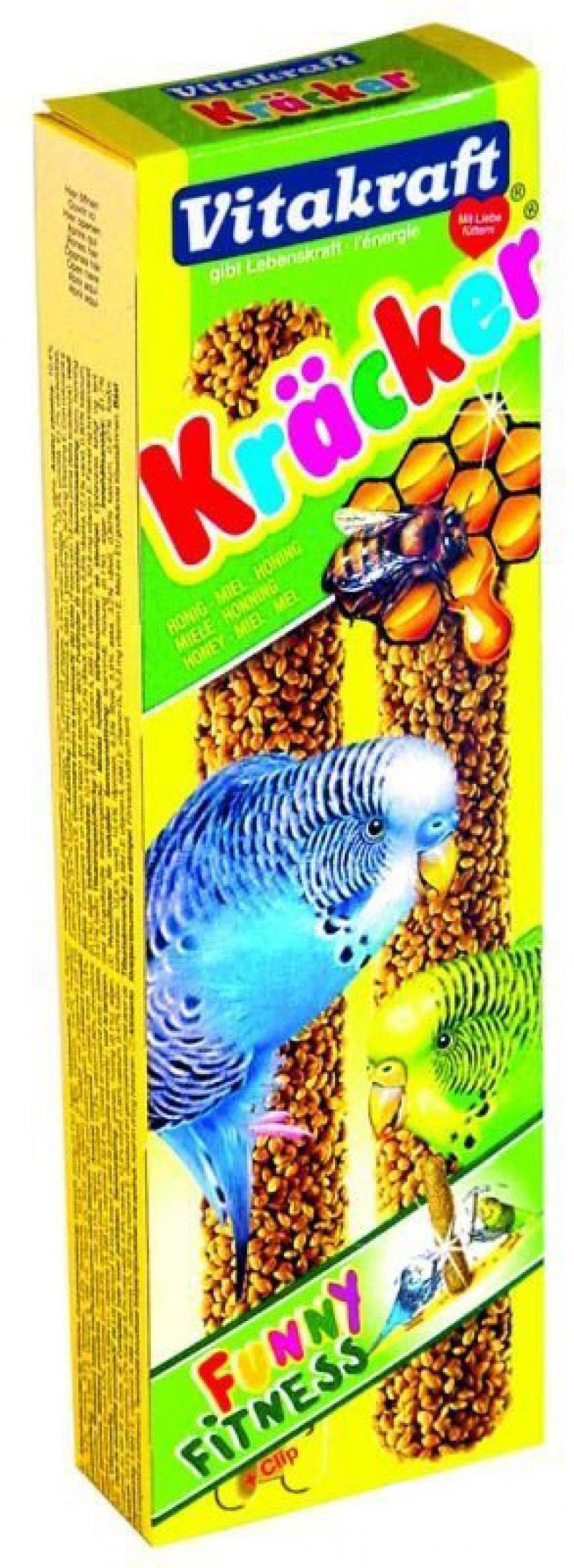 Лакомства для птиц Vitakraft Крекеры медовые