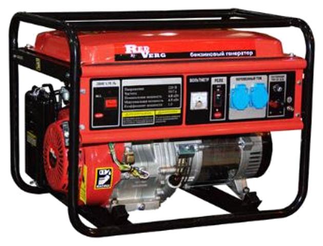 Бензиновый генератор RedVerg RD G8000ENA
