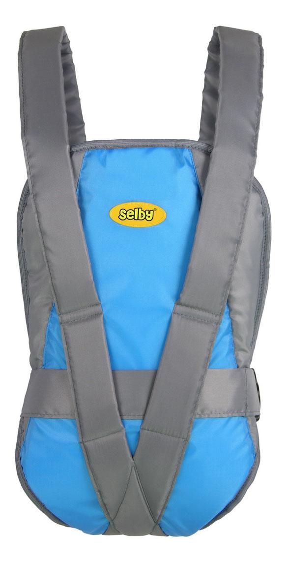 Рюкзак для переноски детей Тополь Selby Классик серый