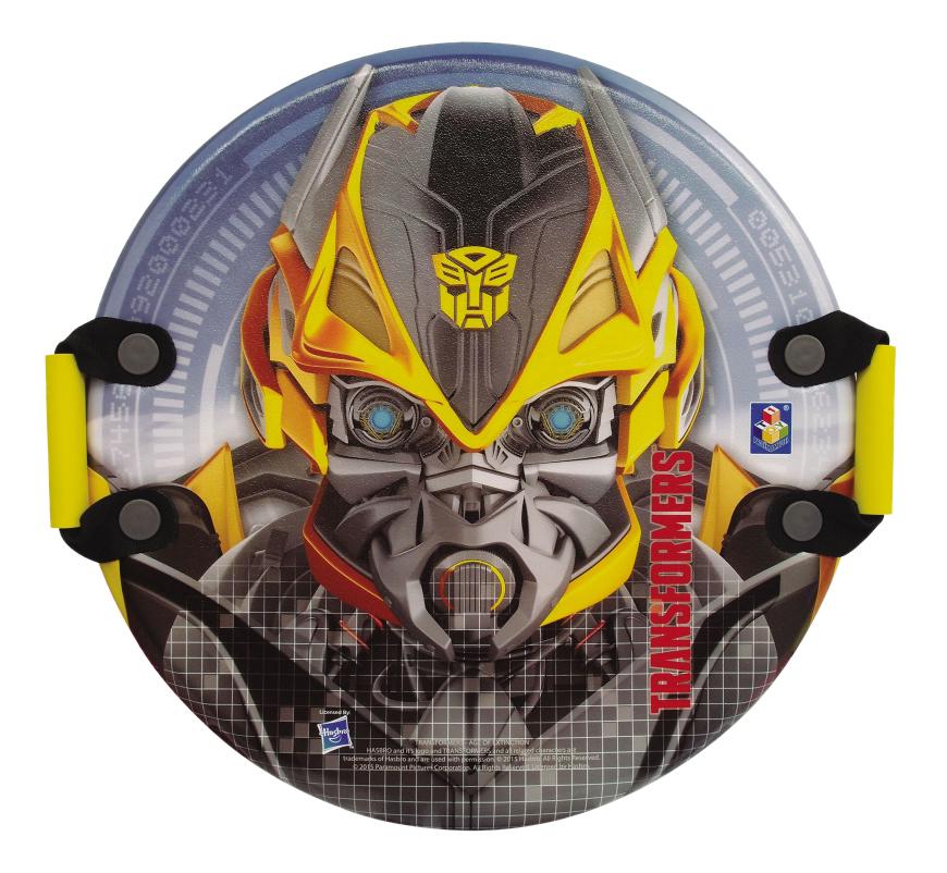 Ледянка детская 1TOY Transformers круглая, с плотными ручками