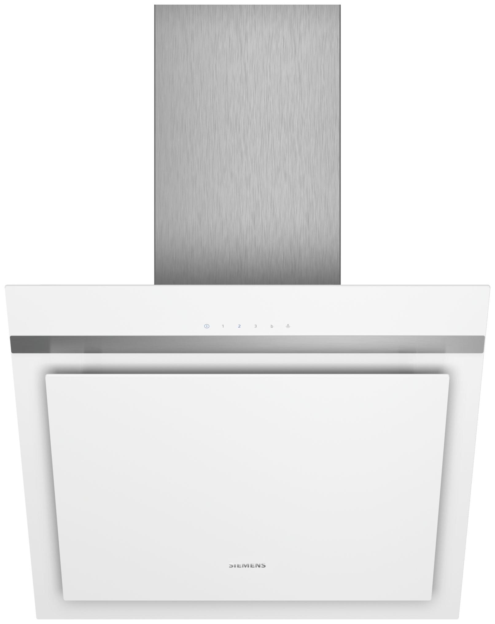 Вытяжка наклонная Siemens iQ300 LC67KHM20 White/Silver