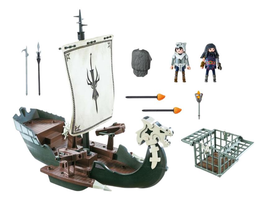 Игровой набор Playmobil PLAYMOBIL Корабль Драго фото