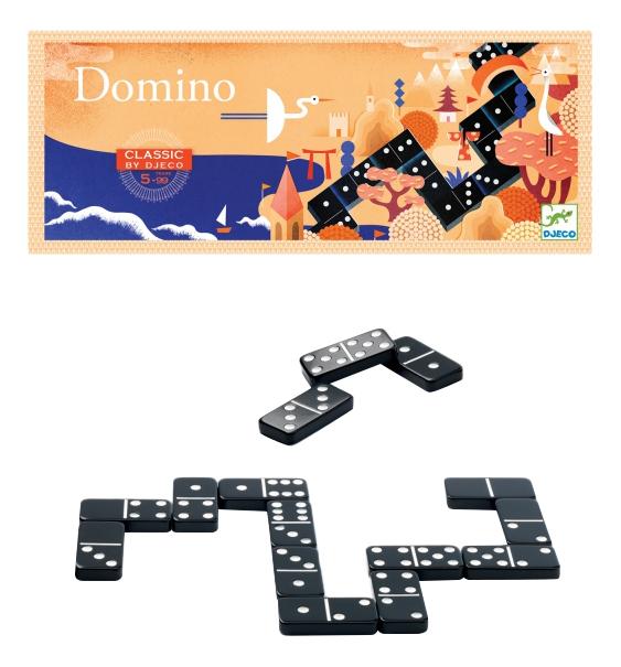 Купить Семейная настольная игра Djeco Домино, Семейные настольные игры