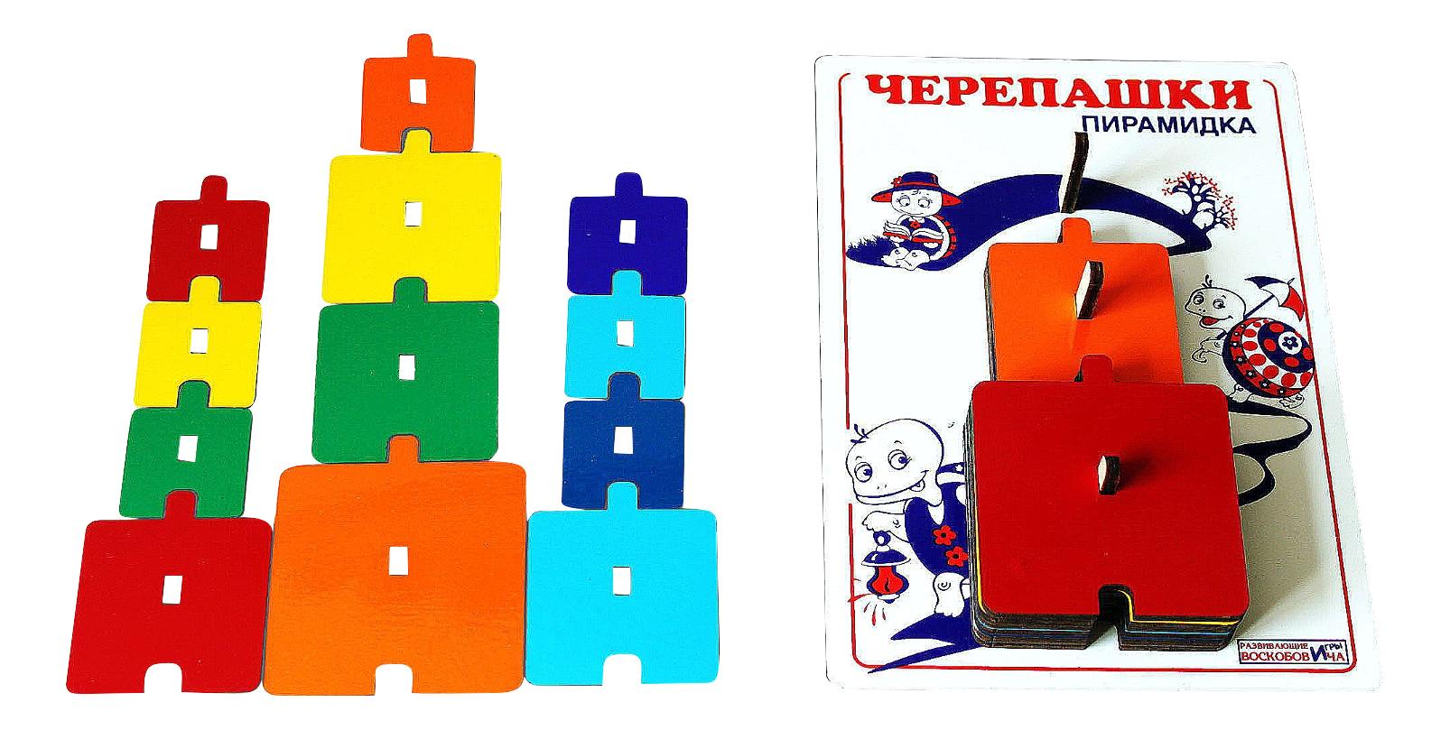 Купить Пирамидка - Черепашки, Пирамидка Развивающие игры Воскобовича Пирамидка - Черепашки, Пирамидки для детей