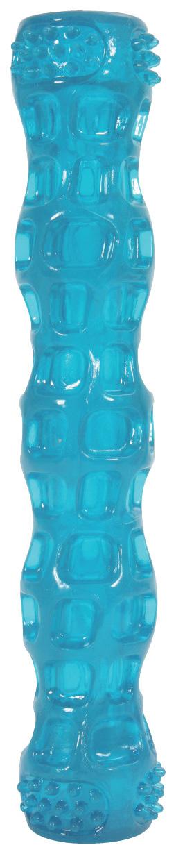 Жевательная игрушка для собак ZOLUX Хрустящая палочка, голубой, 10,5 см