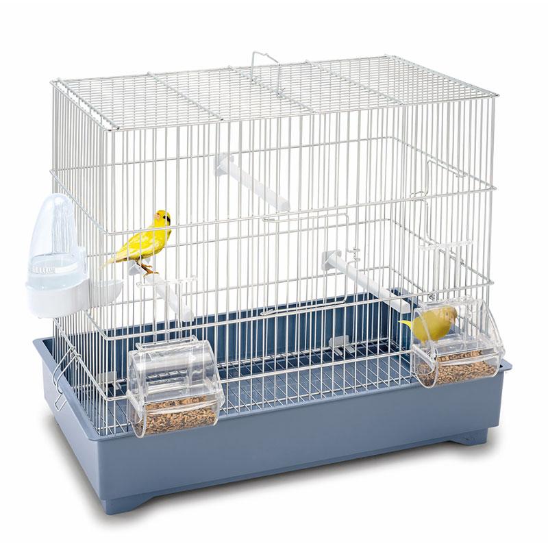 Клетка для птиц Imac COVA 42, пепельно