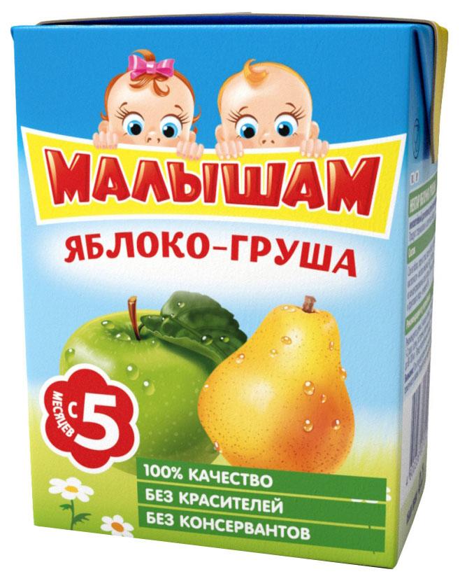 Нектар Малышам Яблоко и груша с