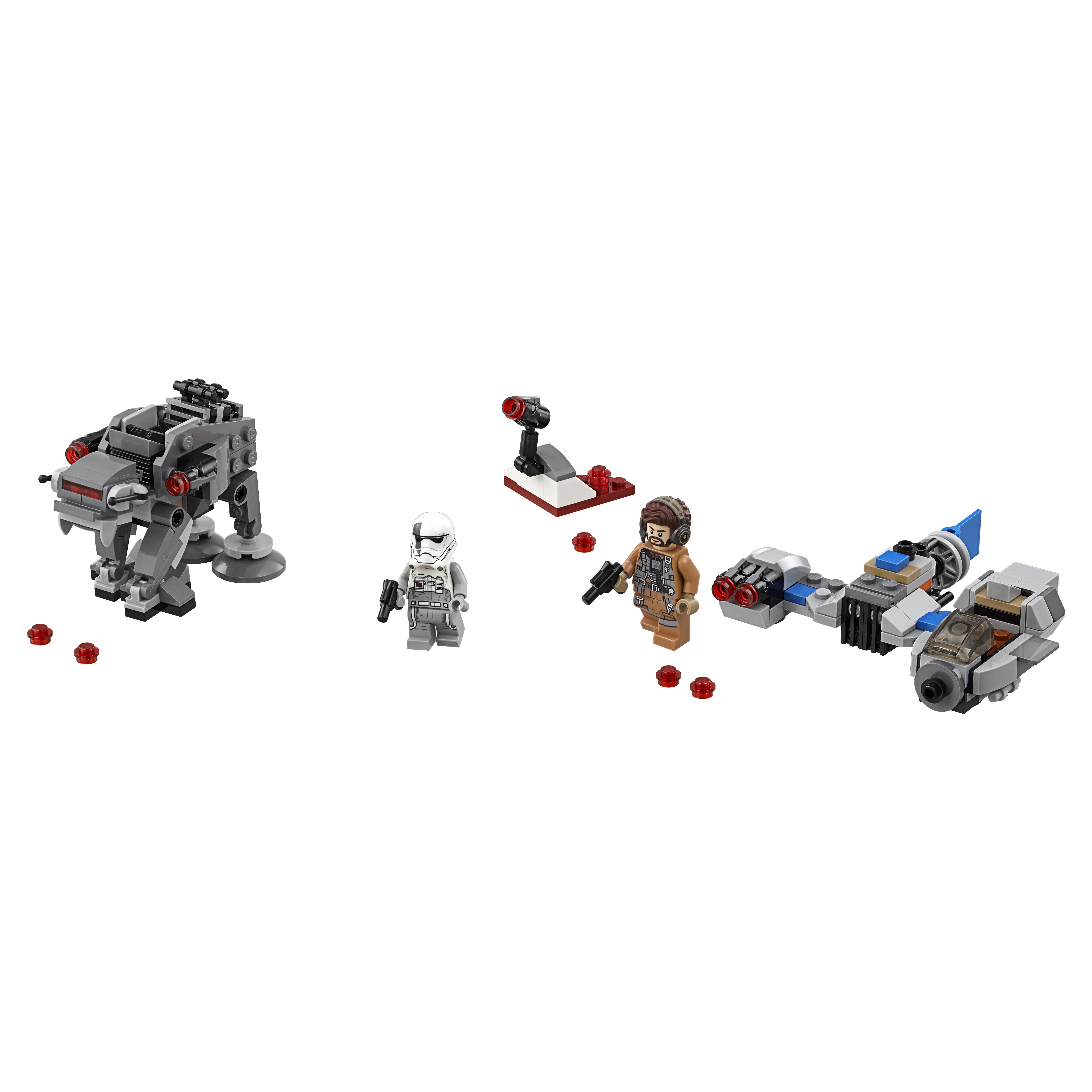 Конструктор LEGO Star Wars Бой пехотинцев Первого Ордена против спидера на лыжах (75195)