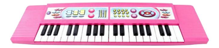 Купить Синтезатор игрушечный Shantou Gepai 37 клавиш BL646-1, Детские музыкальные инструменты