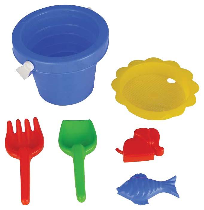 Купить Набор для песочницы из 6 предметов, Песочный набор Pilsan 6 предметов 6123plsn, Песочные наборы
