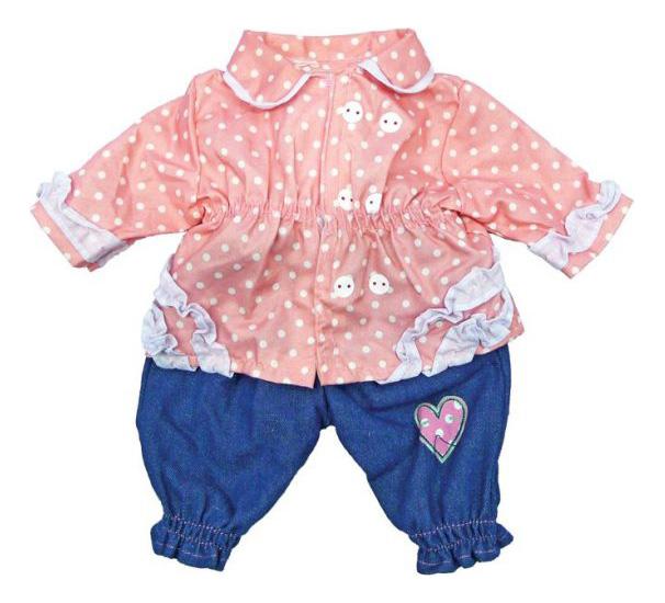Кофточка и штанишки 38-42 см 452029 для кукол Mary Poppins фото