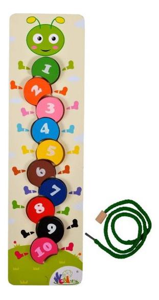 Купить Гусеница, Mapacha Вкладыши Mapacha гусеница 76653, Развивающие игрушки