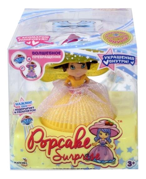 Ароматизированная мини кукла пироженка с браслетом 8 см 1Toy т10612