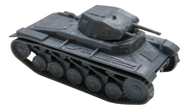Купить Модели для сборки Zvezda Немецкий лёгкий танк Pz.Kp.fw II,