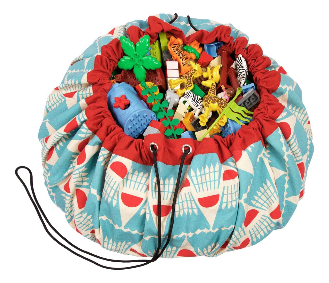 Мешок для игрушек Play&Go Designer Бадминтон фото
