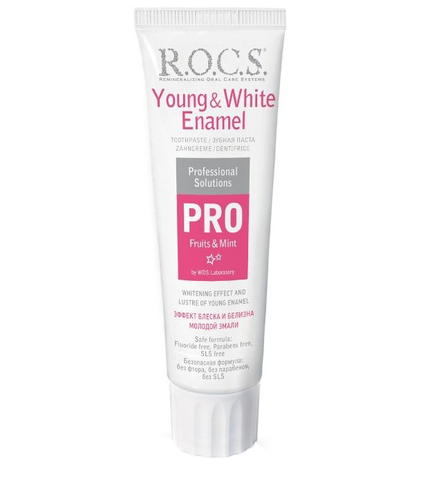 R.O.C.S. PRO YOUNG #AND# WHITE ENAMEL