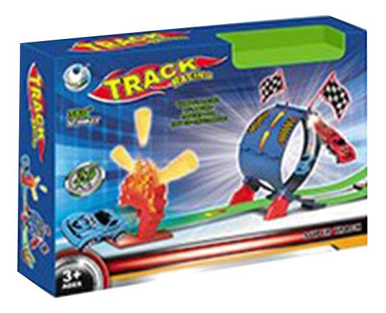 Автотрек Track Racing с машинкой Gratwest В86585